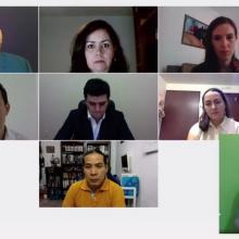Participantes de la presentación del libro