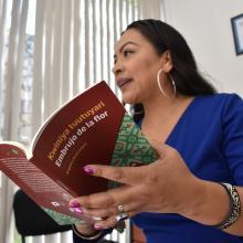 Angélica Ortiz y su libro Kwiniya tuutuyari