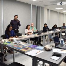 Estudiantes del posgrado presentan sus avances de proyecto