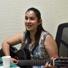 Valeria Guzmán, promotora cultural y maestra en terapia familiar