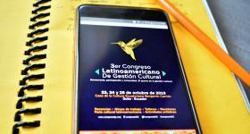 página del  3er Congreso Latinoamericano de Gestión Cultural
