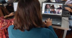 Tutorías en línea con estudiantes