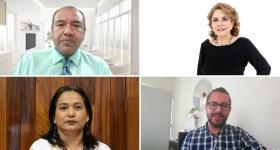 Profesores de la licenciatura en Seguridad Ciudadana que obtuvieron certificación