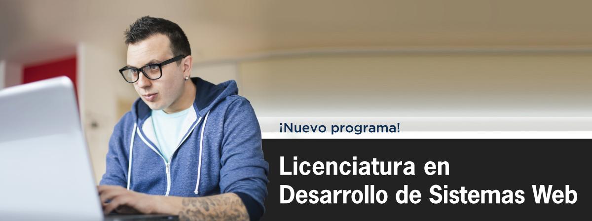 Nuevo programa en UDGVirtual, Licenciatura en Desarrollo de Sistemas Web