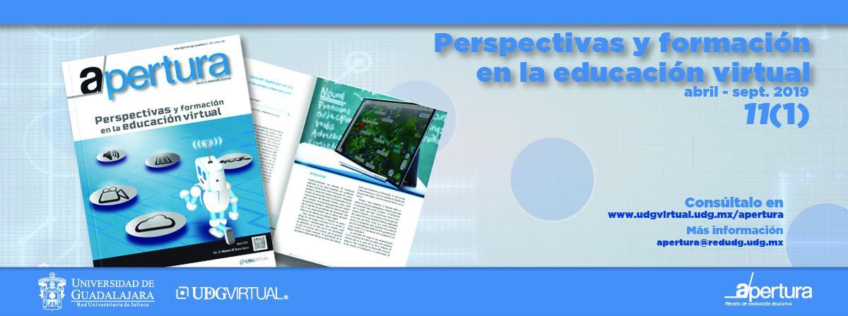 Revista Apertura: Perspectivas y formación en la educación virtual