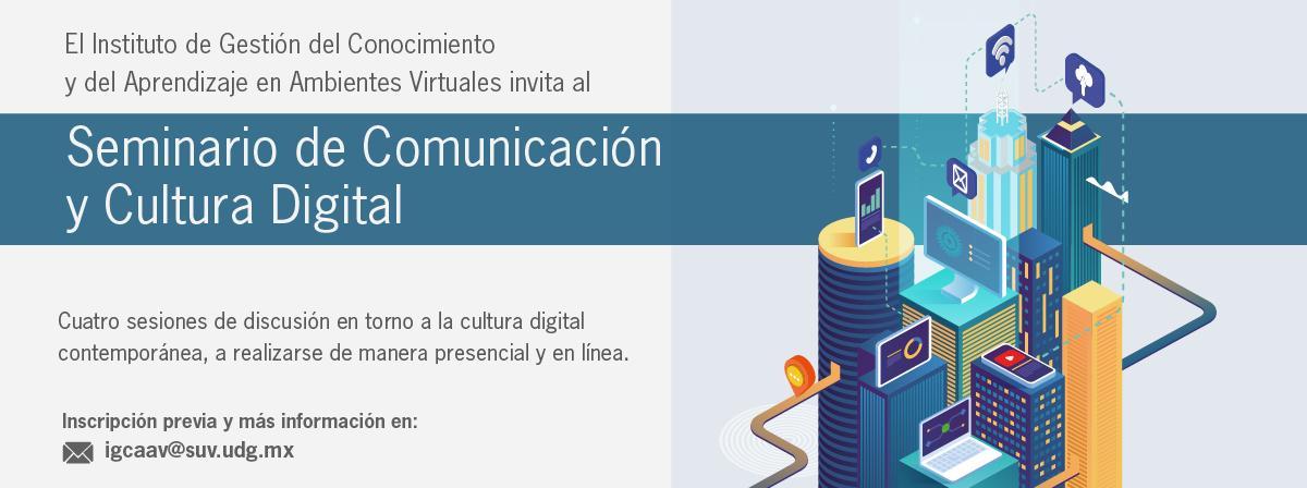 Seminario de Comunicación y cultura digital, sesiones de discusión