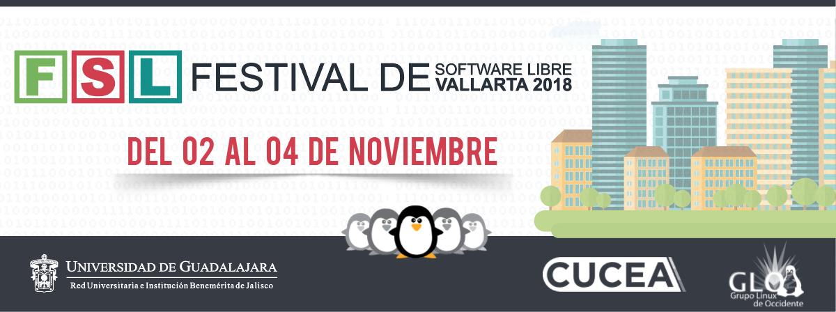 Festival de Software libre del 2 al 4 de noviembre